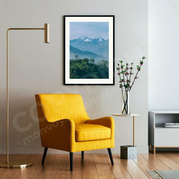Sierra colombie photo impression cadre décoration