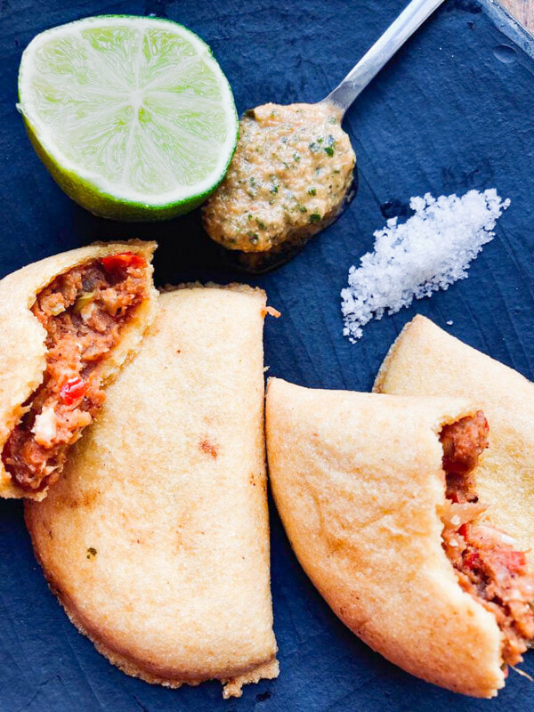 cours de cuisine colombienne empanadas de pipian