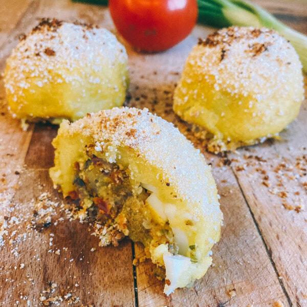 Recette colombienne de las papas rellenas