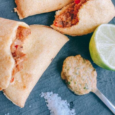 Recette colombienne de l'empanada de pipian
