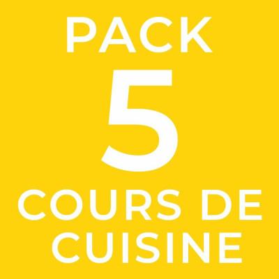 Pack 5 cours de cuisine colombienne