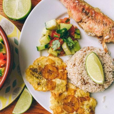 Recette colombienne de l'arroz con coco